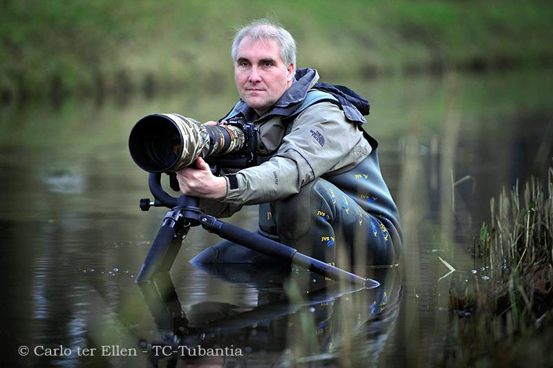Goor - Natuurfotograaf Han Bouwmeester heeft prijs gewonnen met zijn fotografie. editie GO Foto Carlo ter Ellen CTE20081201