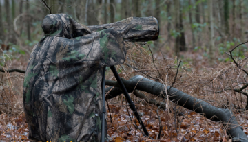 Product: HBN Quick camouflage poncho (nieuw)