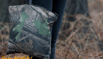 Productfoto: HBN Quick camouflage poncho (nieuw)