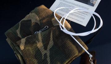 Productfoto: HBN Camouflagegordijn